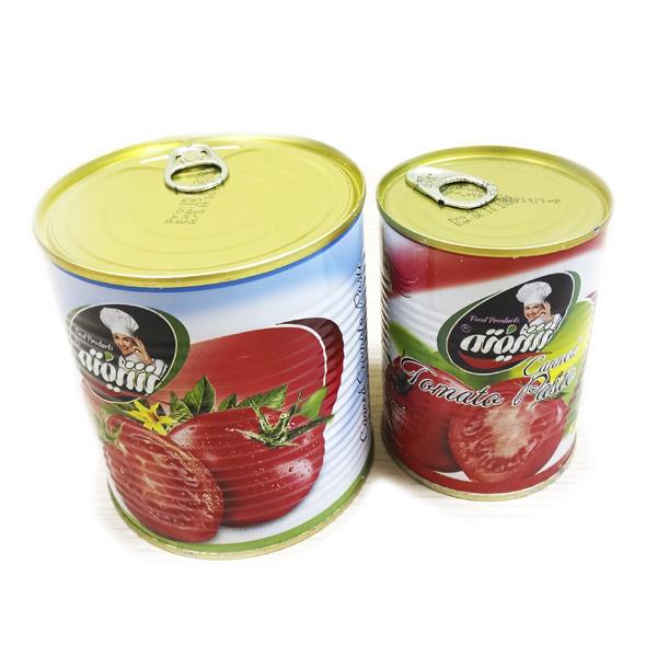 томатная паста в железной банке