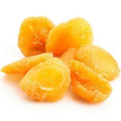 Необработанный натуральный сухофрукт персик