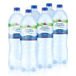 Минеральная вода газированная 1,5л
