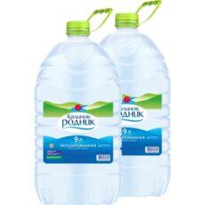 Вода питьевая негазированная 9л