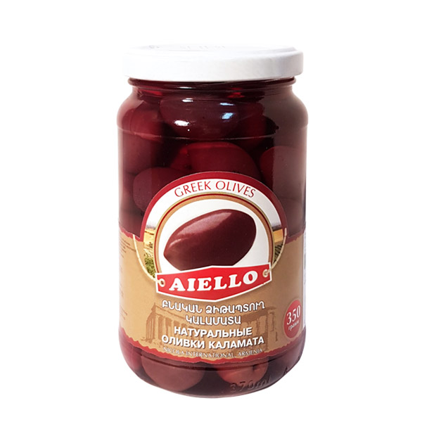 красные оливки