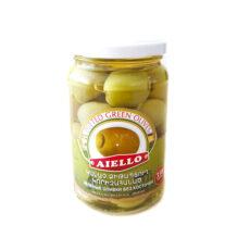 зеленые оливки без косточек 350