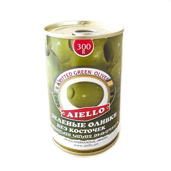 зеленые оливки без косточек